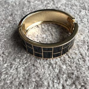 Black/gold bangle